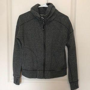 LuluLemon Zipper Sweatshirt Gray Size 4